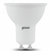 Лампа Gauss MR16 7W 630lm 6500K GU10 LED 1/10/100
