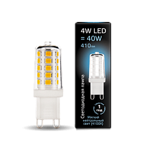 Лампа Gauss LED G9 AC185-265V 4W 4100K керамика