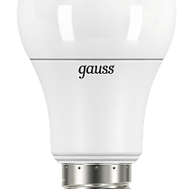 102502316 Лампа Gauss A60 16W 1470lm 6500K E27 LED 1/10/50