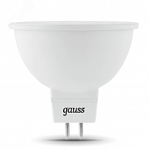 Лампа Gauss MR16 5W 530lm 6500K GU5.3 LED 1/10/100